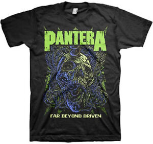 PANTERA-Far-Beyond-T-SHIRT-S-M-L-XL-2XL-Brand-New-Official-T-Shirt