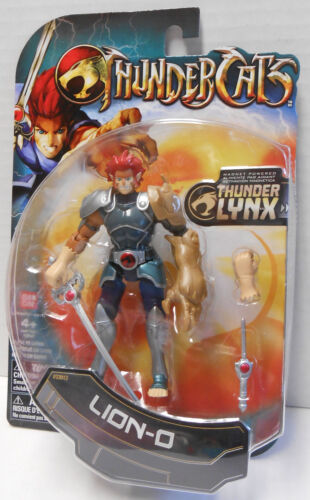 Thundercats 4 inch Action Collectible Figure Lion-O NIP by Bandai
