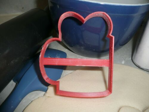 VALENTINES DAY MUG CUP OUTLINE HEART SWEETHEART LOVE COOKIE CUTTER USA PR3364