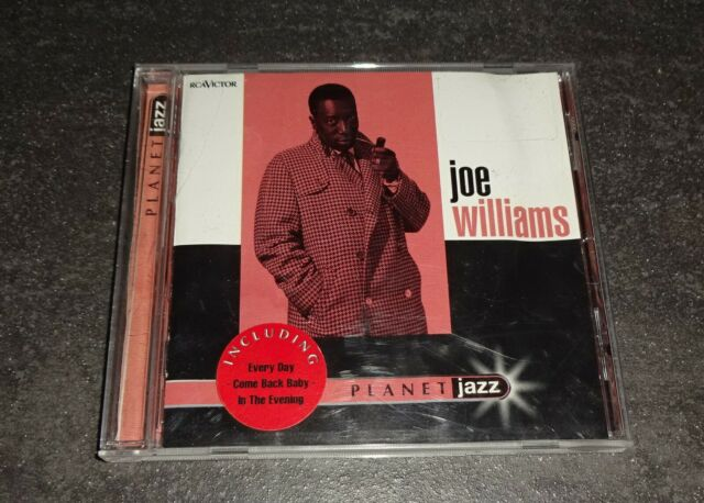 JOE WILLIAMS Planet Jazz 74320 65370 2 Guter Zustand