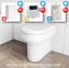 thumbnail 8 - Bathroom-Bundle-500WC-Unit-Toilet-Pan-amp-Seat-Concealed-Cistern-Vanity-Unit
