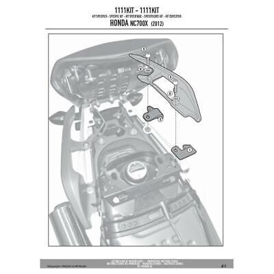 Fornitura Kit Attacchi Per Te1111 Honda 700 Nc Sa Abs 2012-2013