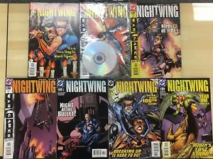 NIGHTWING-lot-of-7-different-issues-as-shown-2004-2005-DC-Comics-FINE