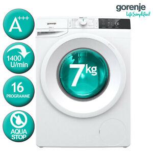 Waschmaschine-Frontlader-A-Gorenje-W4E743P-7kg-1400U-min-Aquastop-16-programm