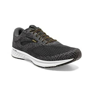 BROOKS-REVEL-3-Scarpe-Running-Uomo-Neutral-TURBOLENCE-BLACK-ORANGE-110314-037