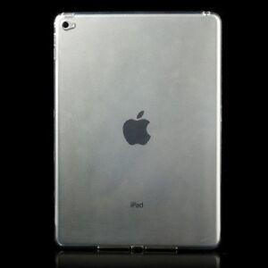 Slim-0-6-mm-Brillante-Suave-Gel-Tpu-Transparente-Skin-Funda-Protectora-Para-iPad-Air-de-Apple-2