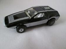 1972 Matchbox black Midnight Magic Car #51 Hong Kong (Nice)