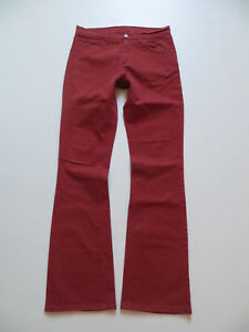 Levi-039-s-Jeans-525-Bootcut-Hose-W-32-L-34-Rot-Red-colored-Stoff-Jeanshose