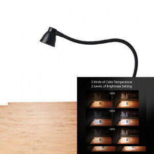3000-6500K Adjustable 6 Clamp Lamp for Desk CeSunlight Clip on Reading Light