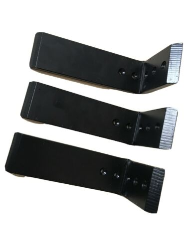 "3 Ea Granite-Marble Countertop Support Bracket 8"" X 4"" Steel L-Bracket"