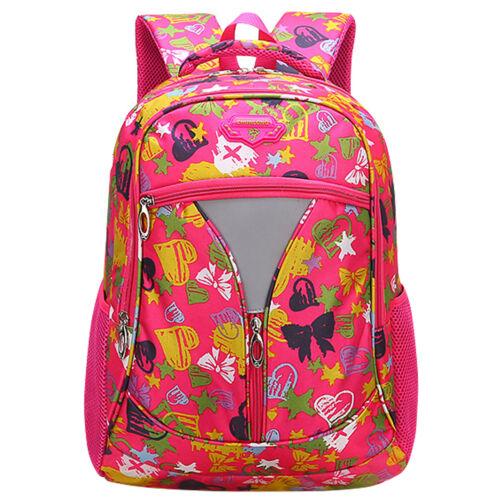 Hot Boy Girl School Bag for Grades 3-6-9 Kids Outdoor Fashion Backpack Rucksack