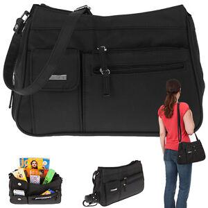 3e29b1d563b38 Das Bild wird geladen Handtasche-Alessandro-Sevilla-Schultertasche -Microfaser-Tasche-Schwarz-4555-