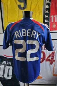 Maillot jersey shirt maglia trikot bayern France 2008 08 L ribery zidane 2010 L