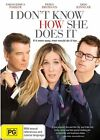 I Don't Know How She Does It (DVD, 2012)