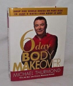 Body-Makeover-Michael-Thurmond-6-Day-2005-First-Edition-HBDJ-Fitness-Weight-Diet