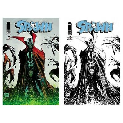 Spawn #250 Set of 4 Covers Mexican Edition Todd McFarlane!