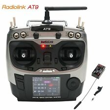 RadioLink AT9 9CH 2.4GHz Transmitter + R9D Receiver w/S.Bus for RC Quadcopter