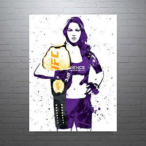 Ronda Rousey UFC Poster FREE US SHIPPING