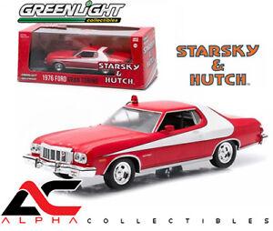 "Greenlight 86442 1:43 1976 Ford Gran Torino ""Starsky y Hutch"" serie de televisión"