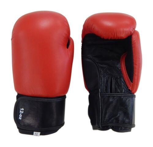 Echt Leder Boxhandschuhe für das Sparring und Training im KampfsportBG-53-RB