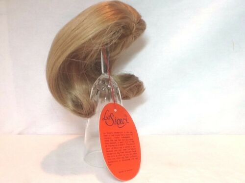 "7/"" NOS VINTAGE LA SIOUX COLLECTION BLONDE DOLL HAIR WIG ~LS3024~ SIZE 6/"""