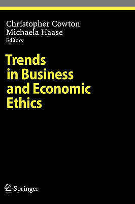 Trends in Business and Economic Ethics (Ethical Economy), , Used; Very Good Book