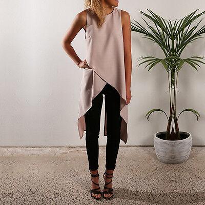 2017 Fashion Women Ladies Summer Vest Tank Top T Shirt Blouse Casual Tee T-Shirt