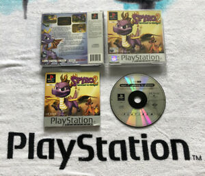 Sony-ps1-Spiel-Spyro-2-Gateway-to-Glimmer-ps2-ps3-Playstation-1-komplett