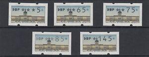 Berlin-Automatenmarken-VS-2-postfrisch-5-Werte-0-05-1-45-DM