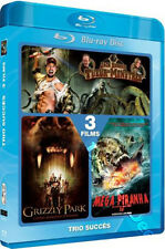 Jack Brooks: Monster Slayer / Grizzly Park / Mega Piranha NEW Blu-Ray 2-Disc Set