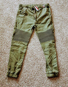 Galaxy-By-Harvic-Olive-Green-Size-XL-Mens-Slim-Fit-Joggers-Brand-NEW