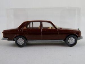 Wiking-152-3A-Mercedes-Benz-240-D-Lim-1976-in-braun-1-87-H0-NEU-unbespielt