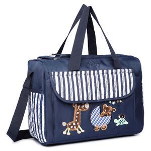 f65daa8addaa2 Image is loading Baby-Nappy-Mummy-Changing-Bag-Hospital-Diaper-Bags-