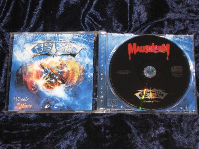 Custard CD Wheels Of Time 2005 Mausoleum Records – 251067        EX/EX
