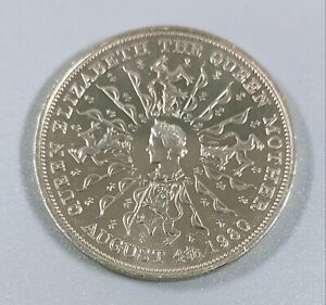 Queen Mother 80th Birthday Commemorative Coin August 4th 1980