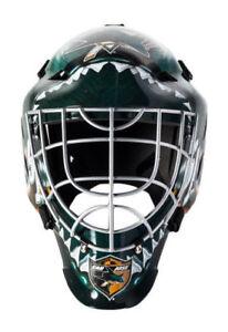 Franklin Sports NHL GFM 1500 San Jose Sharks Goalie Face Mask - 74005F24E2 4762df018