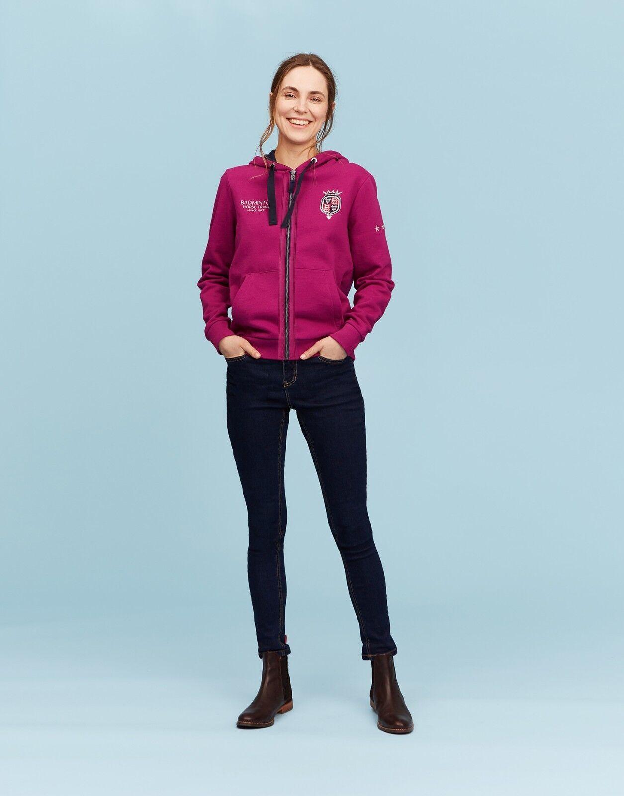SALE Joules Official Badminton Ladies Sweatshirt - Jewel