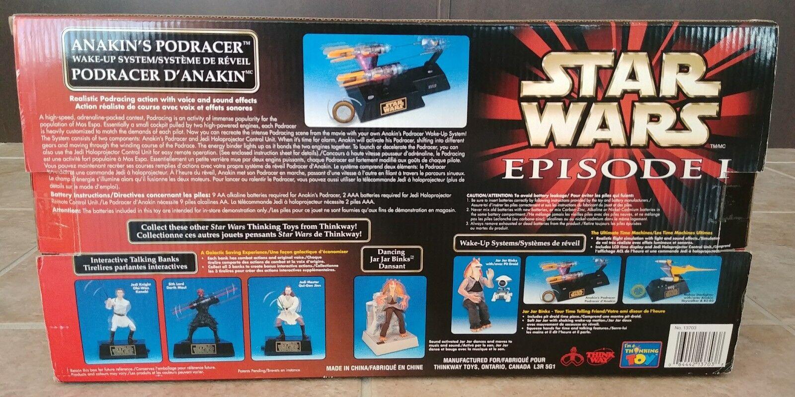 Star Wars Episode I Anakin's Podracer Wake-Up Wake-Up Wake-Up System f73211
