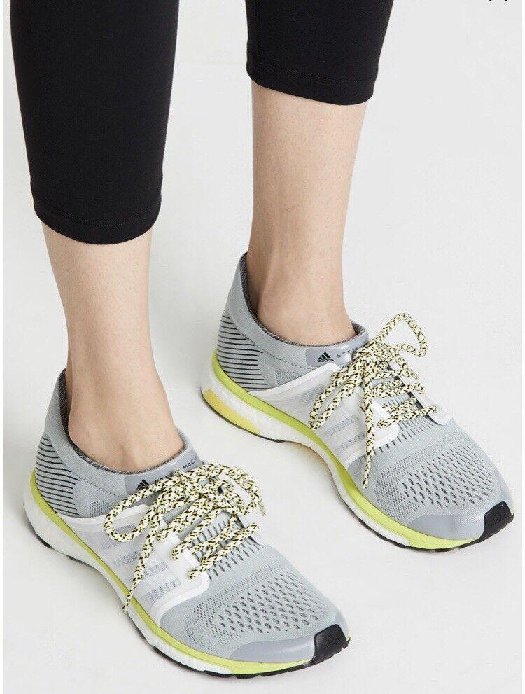 Adidas by Stella McCartney Women's Adizero Adios  EGGSHELL Grey US 6