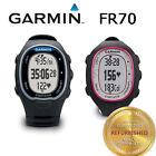 Garmin Forerunner FR70 Fitness Training Sport Watch Black/Blue Black/Pink