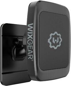 WixGear Stick On Dashboard Magnetic Car Mount Holder for Smartphones (Rectangle}