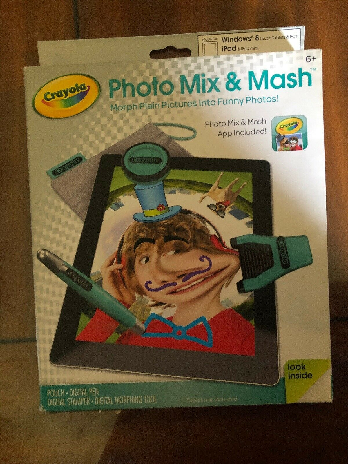 Crayola Photo Mix /& Mash Accessory Tools /& App iPad Android /& Windows Tablets