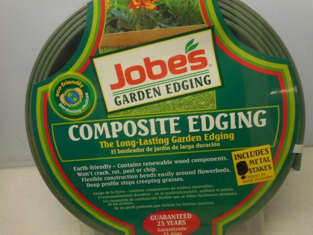 "2 Rolls Jobes Garden Edging 16/' x 3 1//2/"" Composite Edging Brown  FREE SHIPPING"