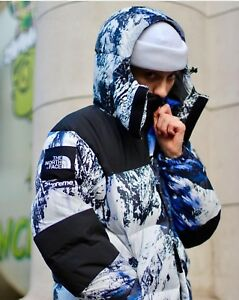 Details About Supreme The North Face Mountain Baltoro Jacket Mountain Print Size Xl
