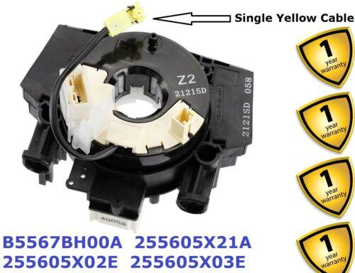 Air Bag Clock Spring Squib for Nissan Qashqai J10 2 07-13 B5567BH00A 255605X02E