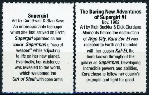 Supergirl Set of 2 Scarce MNH US Postage Stamps Scott/'s 4084i and 4084s