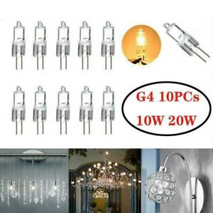 10-pcs-G4-10W-Watt-G4-HALOGEN-BULBS-Light-Globe-Lot-Pack-JC-Bi-Pin-Led-2900K