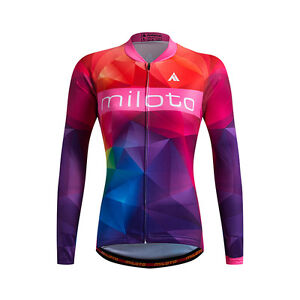 f8bd47e8f Long Sleeve Cycle Jersey Women s Mountain Bike Jersey Cycling Shirts ...