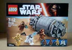 Lego star Wars 75136 DROID ESCAPE POD - BOITE NEUVE SCELLEE -