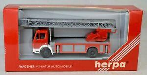 Herpa-871008-HO-1-87-Mercedes-Benz-Rescue-Fire-Truck-West-Germany-Mint-W-Box